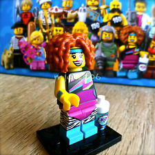 LEGO 71018 Minifigures SERIES 17 Dance Instructor #14 SEALED NEW Aerobics 80s