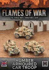 Desert Rats Humber Armoured Car Troop (x3) Battlefront Miniatures