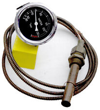 GARDNER ENGINE BRASS WALL MOUNTED THERMOMETER 40 TO 135F NEW