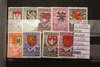 FRANCOBOLLI BELGIO NUOVI* LINGUELLATI N°547/55 STAMPS BELGIUM MH* (A71783)