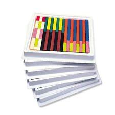 Ressources d'apprentissage-plastique cuisenaire rods classroom set (set de 444)