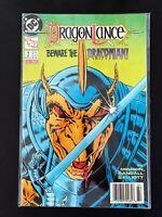 DRAGONLANCE #2 DC COMICS 1988 VF/NM NEWSSTAND EDITION RARE!
