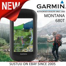 Garmin Montana 680T GPS à Main Navigator + Europe Topo Cartes & 8MP Caméra Neuf