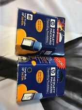 🔥 HP Black & Tri-Color Ink Cartridges Combo 51629A 51649A Genuine Expired 2001