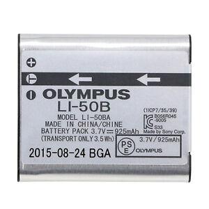 Original Olympus LI-50B Battery For SP-720 SP-800 SZ-15 SZ-16 SZ-1 DZ-105 U-8010