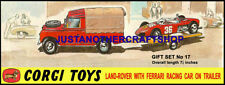 Land Rover Vintage Manufacture Diecast Cars