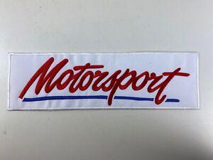 Motorsport  Aufnäher, Aufbügler, Patch, Sticker  Rückenaufnäher ca 25x8cm Ford
