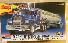 "Revell/Monogram Mack ""R"" Conventional & Tanker Skill Level 1 Plastic Model #1961"