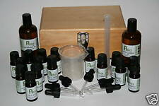 AROMATHERAPY COLLEGE KIT With 16 Popular Essential Oils And Blending Equipment