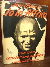 GUERRA - SEM BENELLI : IO IN AFRICA - 1936 TOFANO POLITICA FASCISMO COLONIE ILL.