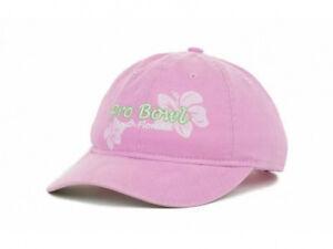 NFL Pro Bowl Women's Pink Flowers Slouch Hat Cap Lid South Florida Reebok RBK FL