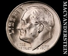 1953-S Roosevelt Dime-Choice Gem Brilliant Uncirculated Luster #P9687