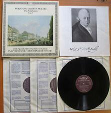 D173D3 Mozart The Symphonies Vol. 7 Jaap Schroder Christopher Hogwood 3xLP EX/EX