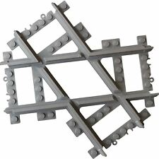 More details for angled compatible cross track, straight cross tracks crossover,train