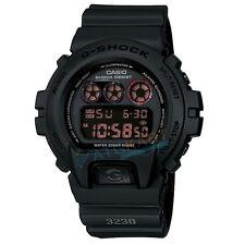 NUEVO CASIO G-shock DW-6900MS-1 Reloj de luz de fondo electroluminiscente