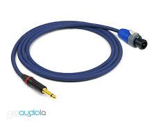 Evidence Audio Siren II Speaker Cable   Neutrik TS to Speakon   10 Foot 10 ft.