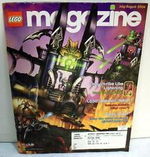 Lego magazine Official PLAY book  of the Club (JULY-AUGUST 2006)