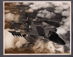 HAWKER HUNTER F6 LARGE ORIGINAL PRESS PHOTO RAF 17402/43