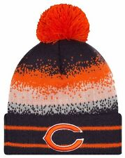New Era NFL Cuff Pom Knit Hat - Chicago Bears