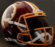 *Custom* Washington Redskins Nfl Riddell Speed Authentic Football Helmet