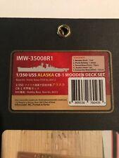 Infini Models 1/350 USS Alaska Wooden deck (unstained)