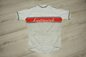 Mens LeMond Racing Cycles Half Zip Cycling Jersey Shirt size L