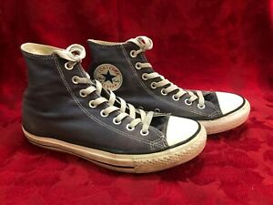 Converse All Star High Top Grey Blue Men 7 Women 9 Canvas Shoes Indonesia