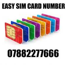 GOLD EASY VIP MEMORABLE MOBILE PHONE NUMBER DIAMOND PLATINUM SIMCARD 882277666