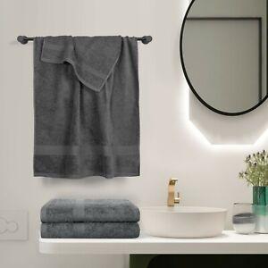 Bathroom 550 GSM Cotton Bath Towels Hand Towel Face Washer Bath Sheet 2021 New