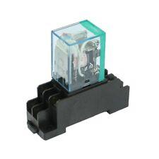 220 / 240V AC bobina DPDT rele' di potere MY2NJ 8 Pin con Socket Base G6L8