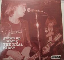 The Real Kids Grown Up Wrong Lp ss Usa 70s American Power Pop Mono L@K