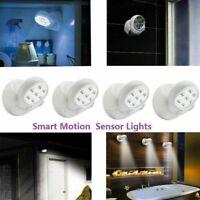 Wireless Motion Sensor 7 LED Lights 360° Rotation Light Control Night Lamps