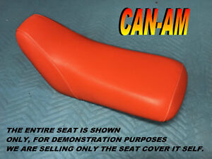Bombardier Can Am DS50 DS90 New seat cover 2002-06 CanAm DS 50 90 ORANGE 989A