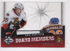 12-13 Limited Erik Karlsson /199 BOARD MEMBERS Senators 2012
