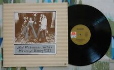 Rick Wakeman LP The Six Wives Of Henry VIII 1973 Prog Yes German Press VG/M-