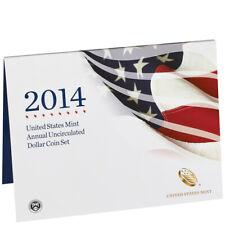 2014 United States Annual Uncirculated Dollar Coin Set (XA6)