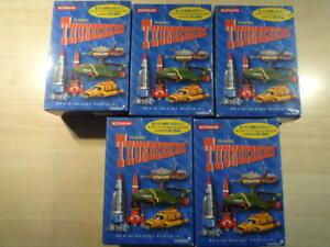 Thunderbirds set of 5 Konami from Japan Sealed