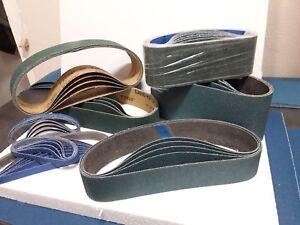 10 x 50mm x 686mm Zirconium Abrasive Belt Various Grit Options