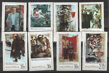 1975 Albania. Albanian  Stamps. National Galery. MNH.