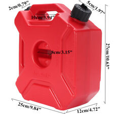 5L Oil Gas Can Spare Container Pot Anti-static Polaris Fuel Tank Pack Jerry Can