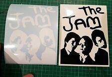 The jam sticker x2 mod ska two tone vespa lambtetta sticker