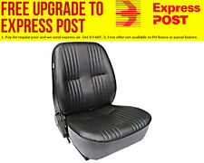 Procar Procar Seat Lowback Series, Black Vinyl, Left
