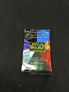 Star Wars CCG Reflections A Collector's Bounty Booster Pack (Sealed, OOP)