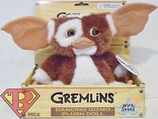 "DANCING GIZMO Gremlins Movie 8"" inch Soft Plush Doll with Sound Neca 2014"