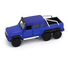 "WELLY *BLUE* Mercedes-Benz G 63 AMG 6x6  *5½"" DIECAST*"