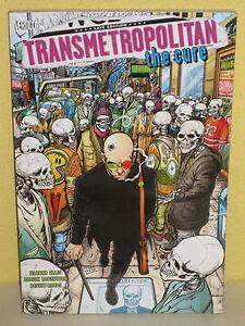 TRANSMETROPOLITAN The CURE TPB - Warren Ellis ROBERTSON - Vertigo GN Trade