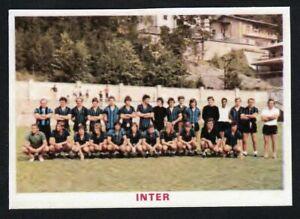 RARA FIGURINA CALCIATORI CALCIO SQUADRE BAGGIOLI ? 1976 INTER
