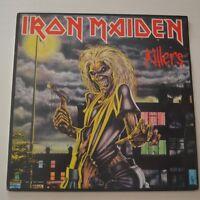 IRON MAIDEN - KILLERS - 1981 FIRST PRESS YUGOSLAVIA LP