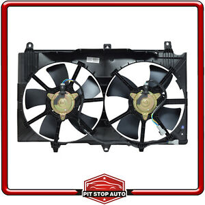 New Dual Radiator and Condenser Fan Assembly for G35 350Z