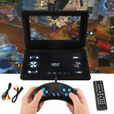 "13.9"" HD TV Portable DVD CD Player 16:9 LCD Screen 270° Swivel + Game Joystick"